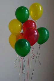 Balloons; Actual size=180 pixels wide